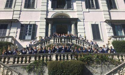 Musica, la banda di Mariano invitata a Villa Carlotta