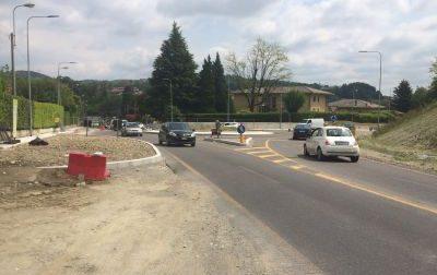 Rotonda di Gironico: chiusura notturna per lavori