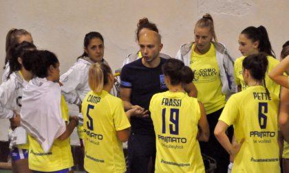 Pallavolo Femminile Como Volley prima vittoria in D