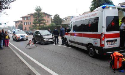 Incidente a Lomazzo: un bambino investito in via Ceresio, è grave
