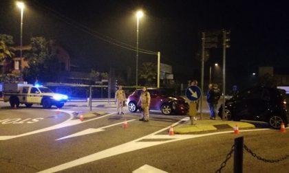 Incidente a Luisago alla rotonda sulla ss35