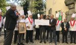 Festa nazionale del cuoco 2017: Landriscina consegna il ricavato della fiera di Sant'Abbondio