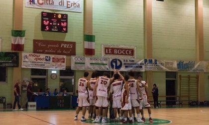 Basket maschile oggi la D e  in C Silver Cantù a Robbio