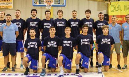 Basket maschile da oggi in campo serie C e D