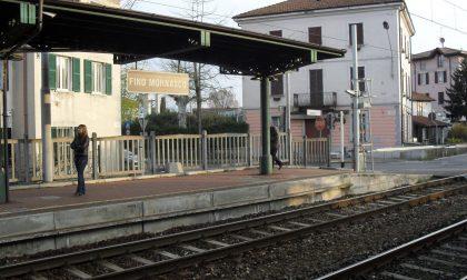 Malore alla stazione di Fino Mornasco