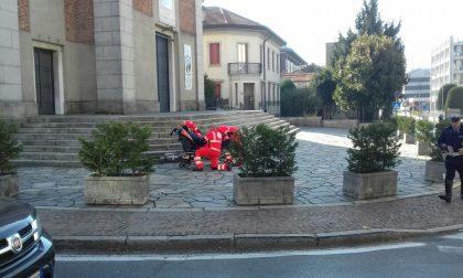 Donna investita ancora in corso Unità d'Italia FOTO