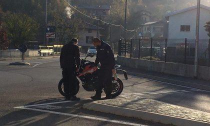 Motociclista ferito nell'incidente tra una Ktm e un Suv