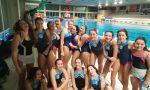 Como Nuoto a segno le Ranette Rosa e gli U15