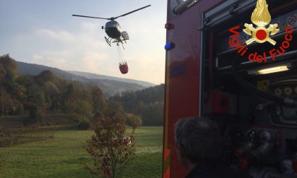 Emergenza finita, spenti gli incendi di Tavernerio e Veleso