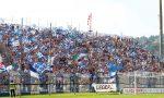 Calcio Como 1907 azzurri in campo oggi contro Inveruno