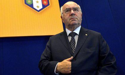 Calcio dilettanti Carlo Tavecchio presidente della LND Lombardia
