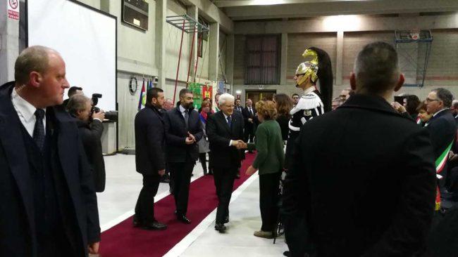 Presidente Mattarella in visita nel Canturino DIRETTA