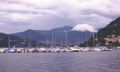 Meteo Como vento in arrivo sulla Lombardia