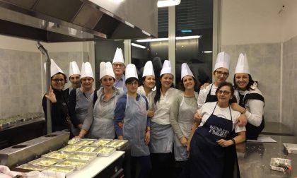 Successo per il corso di cucina con la Mirabello comasco