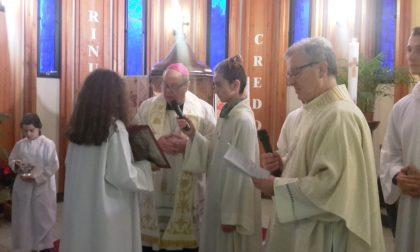 Tavernerio-Solzago danno il benvenuto al nuovo parroco FOTO