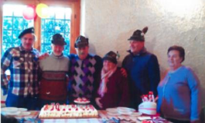 Quattro fratelli tutti negli Alpini di Albese