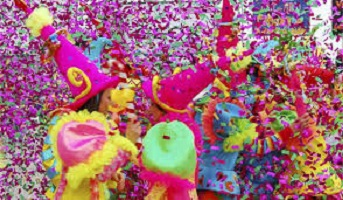 Carnevale Assese protagonisti i cartoons