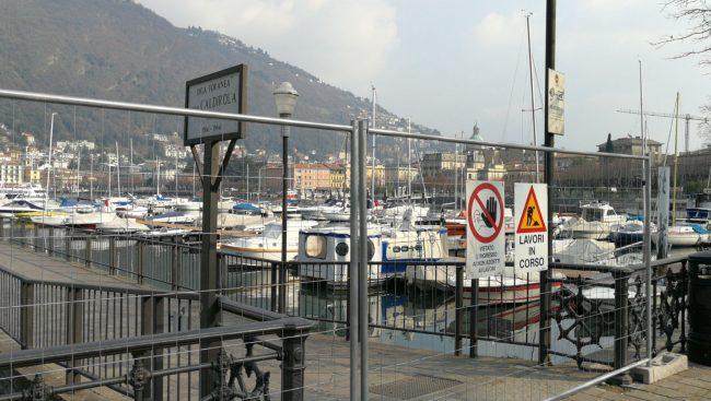Sversamento fogna nel lago di Como al via i lavori FOTO