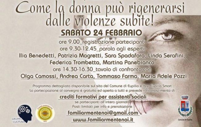 &#8220&#x3B;Familiarmente noi&#8221&#x3B;: il convegno sulla violenza sulle donne