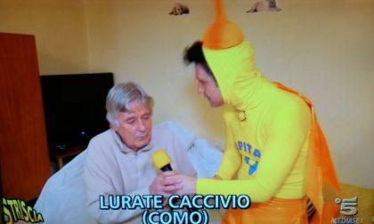 Striscia la notizia a Lurate Caccivio