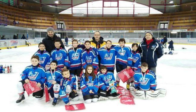 Hockey Como baby lariani terzi a Bellinzona