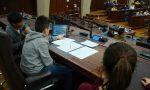 Regione Lombardia scuola canturina in visita