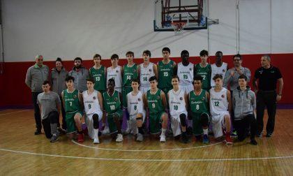 Basket giovanile due canturini con la Lombardia 2005