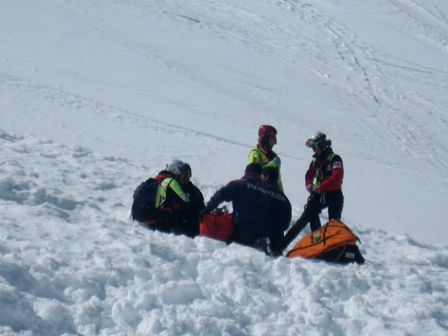 Escursionista muore sotto una valanga a Livigno