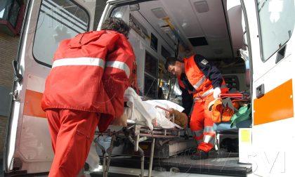 Caduta al suolo a Magreglio: paura per un uomo