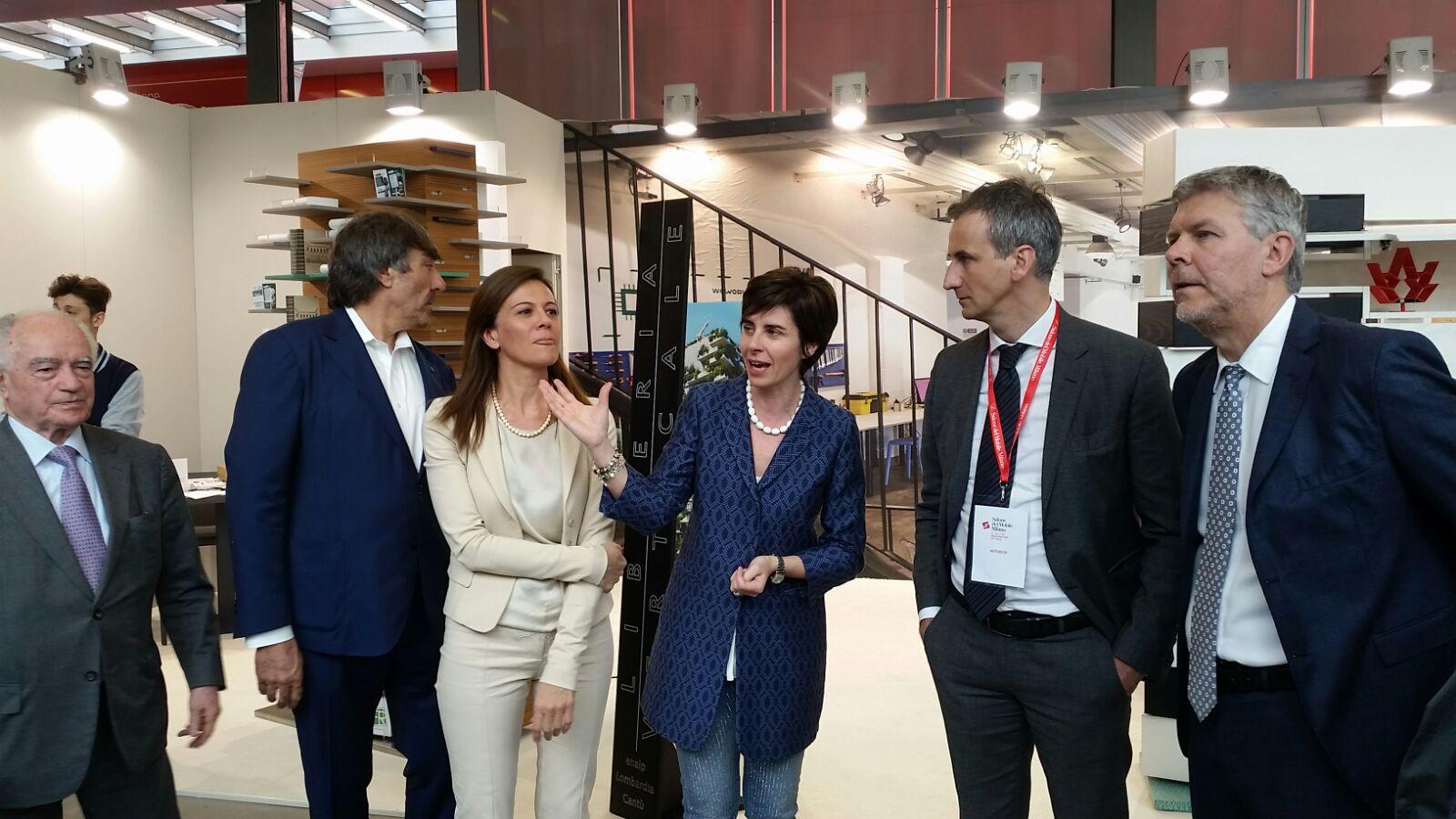 Lombardia, Salone del Mobile: Presidente Fermi a cerimonia inaugurale