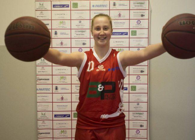 basket femminile Beatrice Del Pero
