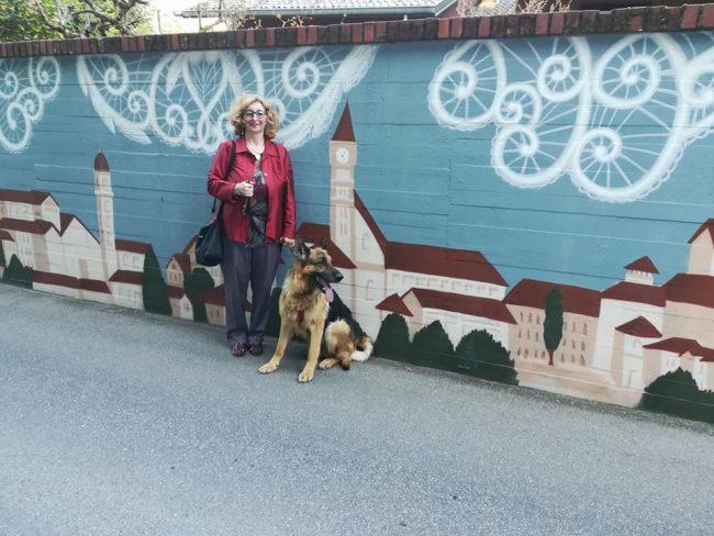 Murales Cantù scatta una foto e diventa protagonista sul Giornale di Cantù