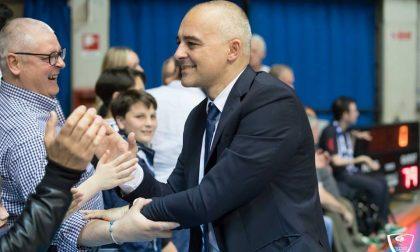 Coach Marco Sodini lascia l'Orlandina Basket, il futuro sarà alla Pallacanestro Cantù?