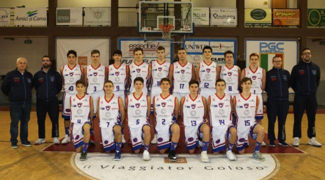 Progetto Giovani Cantù oggi parte l&#8217&#x3B;interzona del team  U16 biancoblù
