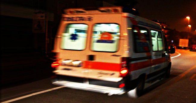 Incidente sulla A9 SIRENE DI NOTTE