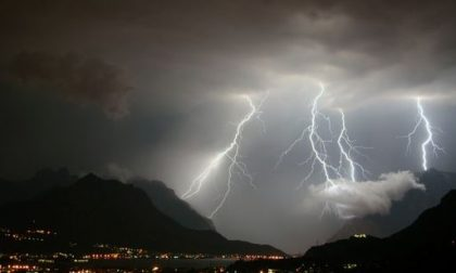 Allerta meteo per rischio temporali forti