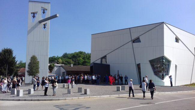 Nuova chiesa Andrate aperta ufficialmente dal Vescovo LE FOTO