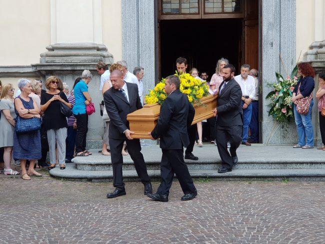 Addio Chiara Corti  l&#8217&#x3B;ultimo commosso saluto