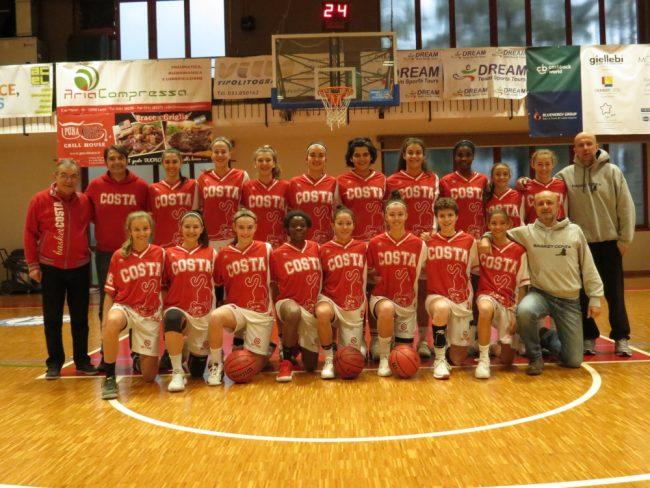 Basket femminile Costa masnaga U16
