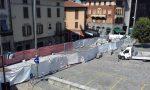 Cantiere piazza Garibaldi proseguono i lavori