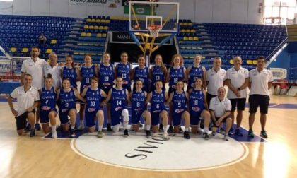 Basket femminile Sofia Frustaci scelta tra le 12 Azzurre per Minsk