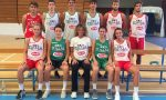 Basket giovanile due canturini nel team Italia U18