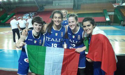 Basket femnminile l'Italia lariana vola in semifinale