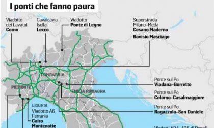 Viadotto dei Lavatoi di Como tra i ponti a rischio in Italia. I PONTI CHE FANNO PAURA IN LOMBARDIA