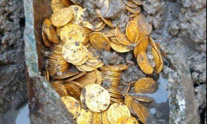 Monete di epoca romana ritrovate a Como: il commento del Ministro Bonisoli FOTO