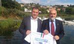 Campionati di Canottaggio a Eupilio, Antonio Rossi per l'inaugurazione