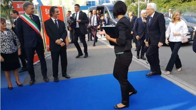 Visita del Presidente Mattarella a Monza