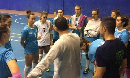 Albese Volley la Tecnoteam ieri in amichevole a Nibionno