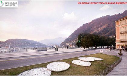 Paratie Como: ecco come sarà il nuovo lungolago da 15 milioni di euro FOTO