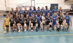 Albese Volley festa tinta d'azzurro ieri sera alla Pedretti